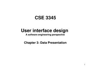 CSE 3345