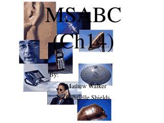 MSABC (Ch14)