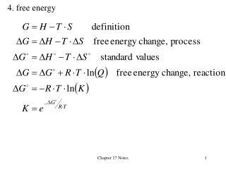 4. free energy