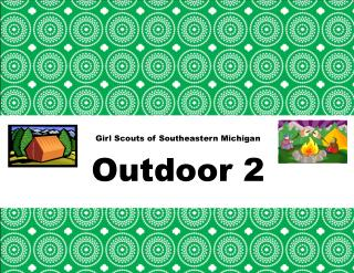 Girl Scouts of Southeastern Michigan Outdoor 2