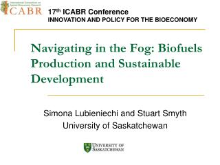 Navigating in the Fog: Biofuels Production and Sustainable Development