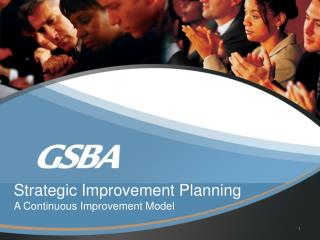 Strategic Improvement Planning A Continuous Improvement Model