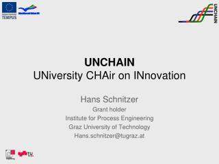 UNCHAIN UNiversity CHAir on INnovation