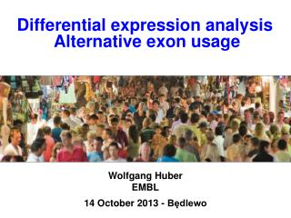 Differential expression analysis  Alternative exon usage