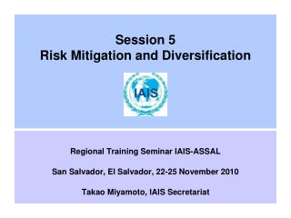 Session 5 Risk Mitigation and Diversification