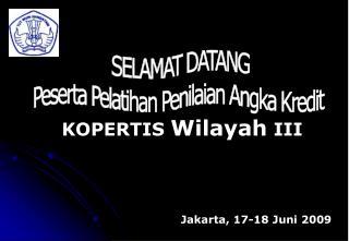 Jakarta, 17-18 Juni 2009