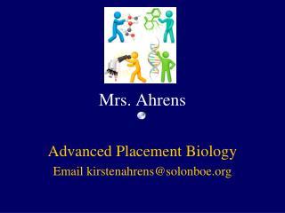 Mrs. Ahrens