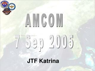 AMCOM 7 Sep 2005