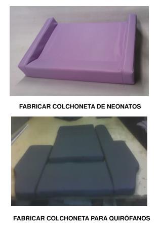 FABRICAR COLCHONETA DE NEONATOS