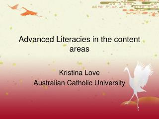 Advanced Literacies in the content areas