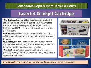 LaserJet & Inkjet Cartridge