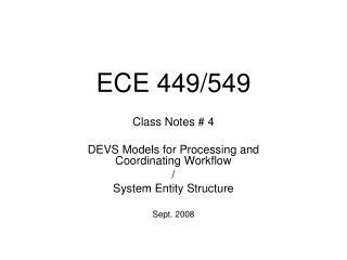 ECE 449/549