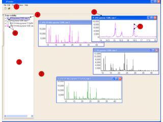 Screen shot of Topas illustrating the right-click menu.