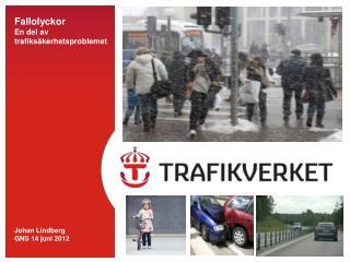 Fallolyckor  En del av  trafiksäkerhetsproblemet Johan Lindberg  GNS 14 juni 2012