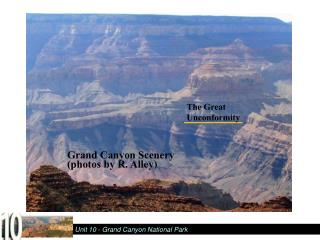 Grand Canyon Scenery  photos by R. Alley