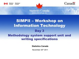 SIMPII � Workshop on Information Technology