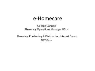 e-Homecare