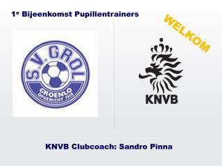 KNVB Clubcoach: Sandro Pinna