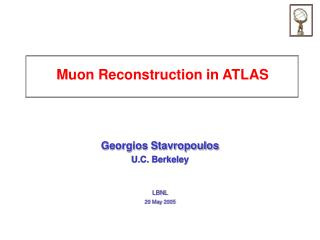 Muon Reconstruction in ATLAS