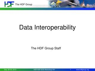 Data Interoperability