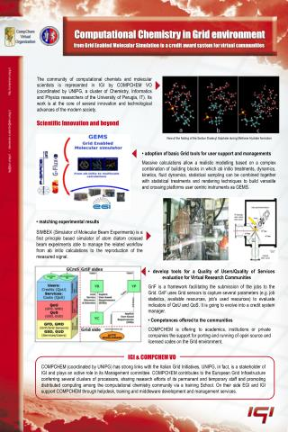 Computational Chemistry in Grid environment
