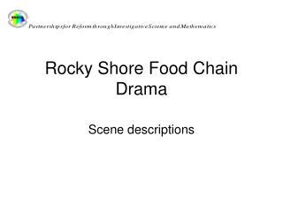 Rocky Shore Food Chain Drama