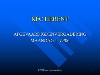 KFC HERENT