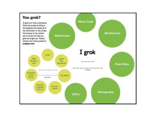 Stanford �Groks�: Using Grokker at Stanford