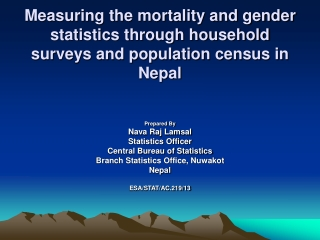 Gender Responsive Budget Initiative in Nepal