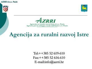 AZRRI d.o.o. Pazin