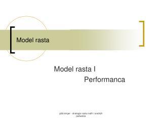 Model rasta
