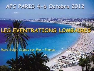 AFC PARIS 4-6  Octobre  2012