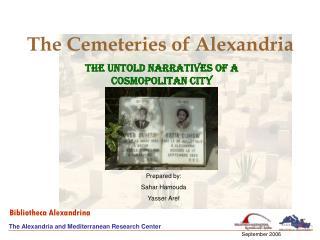 The Cemeteries of Alexandria