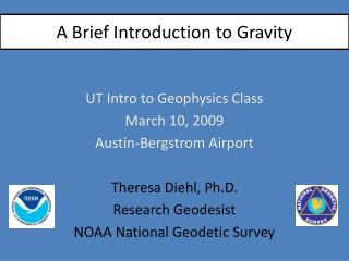 A Brief Introduction to Gravity
