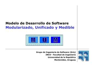 Modelo de Desarrollo de Software Modularizado, Unificado y Medible