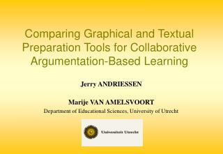Comparing Graphical and Textual Preparation Tools for Collaborative Argumentation-Based Learning