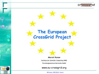 The European  CrossGrid Project
