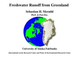Freshwater Runoff from Greenland