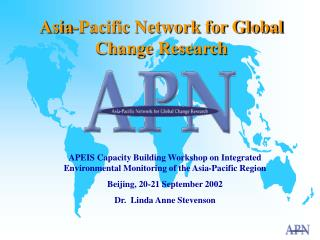 Asia-Pacific Network for Global Change Research