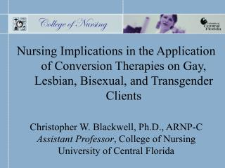 Florida's Ban on Gay Adoption A Cost/Benefit Analysis