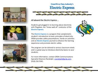 All aboard the Electric Express �