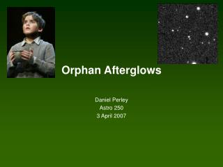 Orphan Afterglows