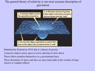 The general theory of relativity is our most accurate description of gravitation