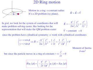 2D Ring motion