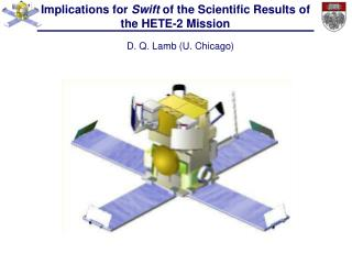Implications for  Swift  of the Scientific Results of the HETE-2 Mission