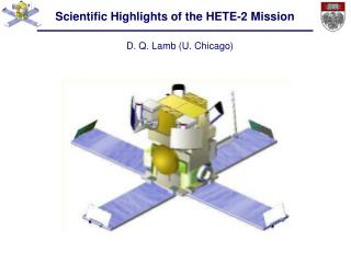 Scientific Highlights of the HETE-2 Mission