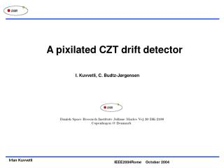 A pixilated CZT drift detector