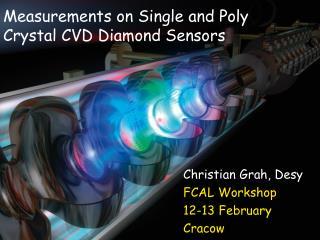 Measurements on Single and Poly Crystal CVD Diamond Sensors