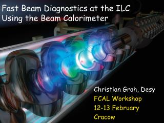 Fast Beam Diagnostics at the ILC Using the Beam Calorimeter