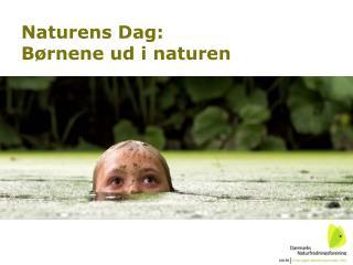 Naturens Dag:  Børnene ud i naturen